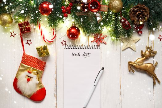 Christmas or new year wish list