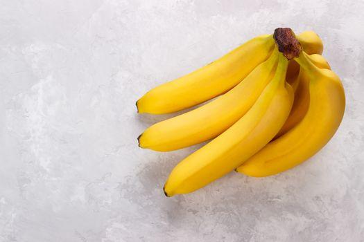 Bunch of ripe bananas