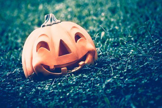 Festive Halloween pumpkin