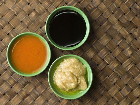 hainan chicken sauce condiment