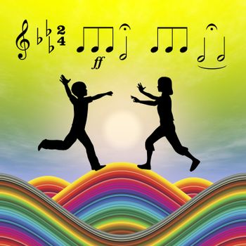 Music as an essential part in early childhood education for development