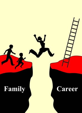 Conflict of compatibility of  having a family and career