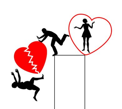 Husband divorcing in exchange for young and attractive woman