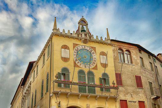 a town hall of Bassano del Grappa
