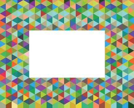 Color fractal Graphic background illustration