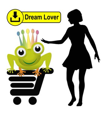 One day everybody can order the ideal partner via Internet, a futuristic vision relating to the famous fairy tale