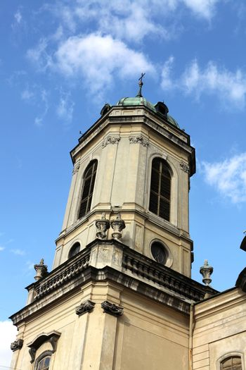 part of famous cathedral church in Lviv
