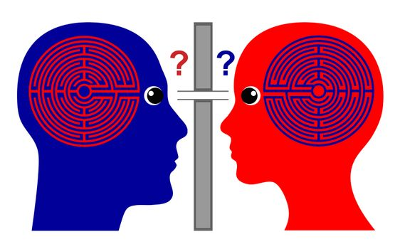 Do we know one another. How to communicate successfully with one another since we do not know much about our own brain labyrinth