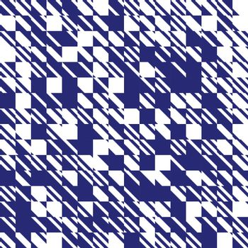 Abstract texture diagonal navy blue and white pattern, Vector illustration