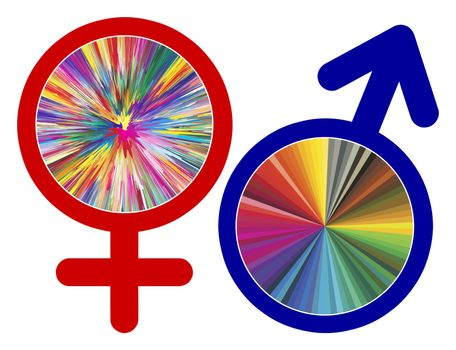 Color Perception and Gender. Man and woman seem to have different natural talents for colors