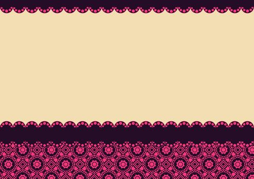 background with small floral elements