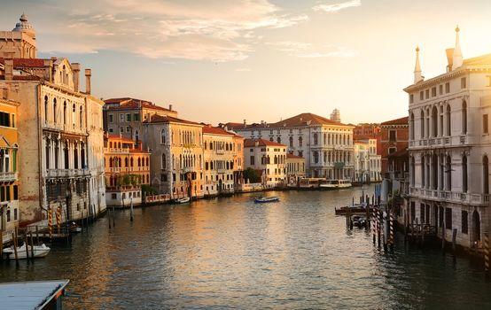 Venice at the dawn