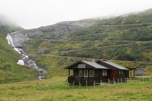 The Vikafjellsvegen Route
