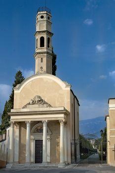 a ancient church in Bassano del Grappa
