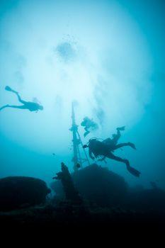 Mauritius - Africa - Underwater team