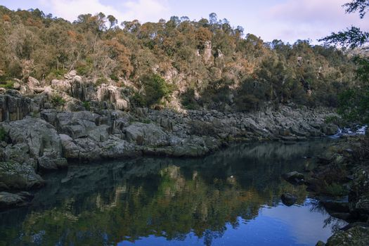 Cataract Gorge during the day.