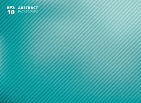 Abstract smooth green with diagonal lines background. Vector illustration