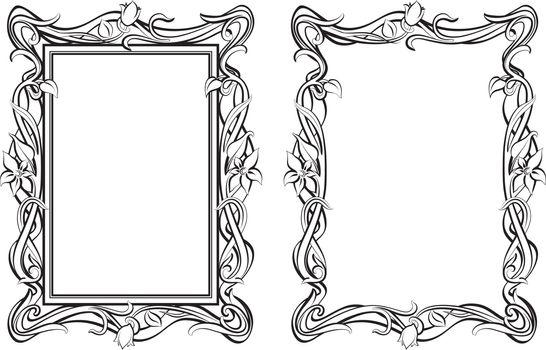 Outline frames