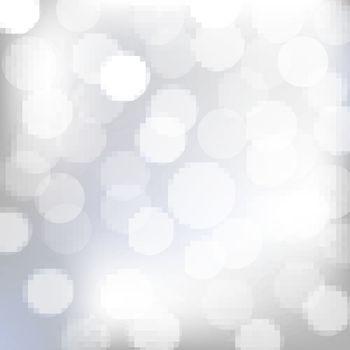 Silver Bokeh-