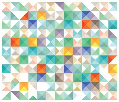 colorful pattern elements, illustration