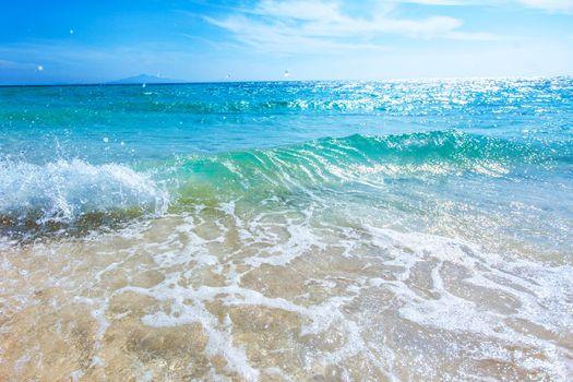 Beautiful sea horizon