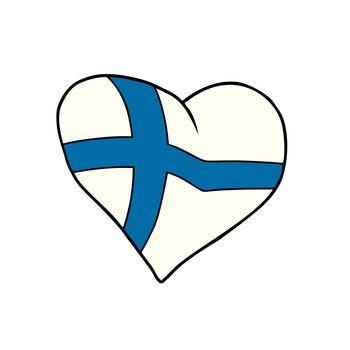 Finland heart, Patriotic symbol