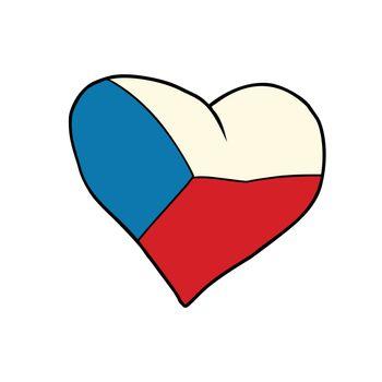 Czech Republic heart, Patriotic symbol