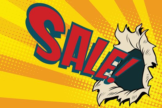 sales hole, the business background of season discounts