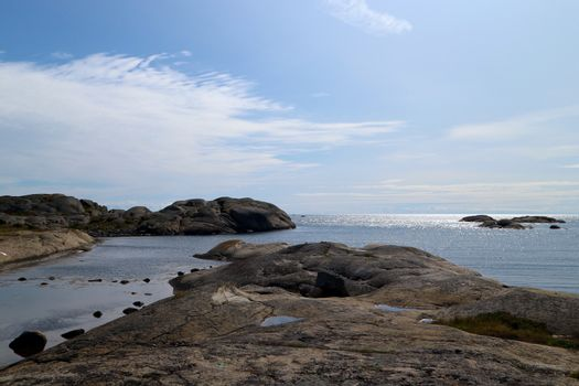 A beautiful summer day in Stavern, Norway.