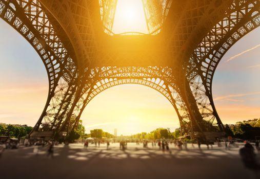 Eiffel Tower inside