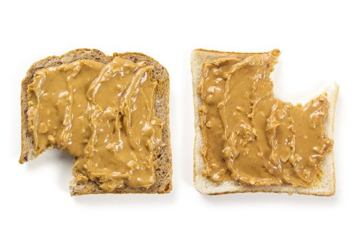 Peanut butter bread with bites