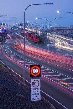 Gateway Bridge Motorway in Brisbane