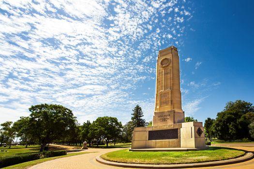 Victoria Park in Dubbo New South Wales Australia