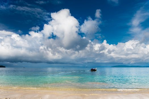 Very beautiful sea view of Krabi Thailand
