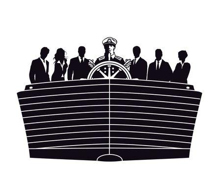 Executive holding course, direction
