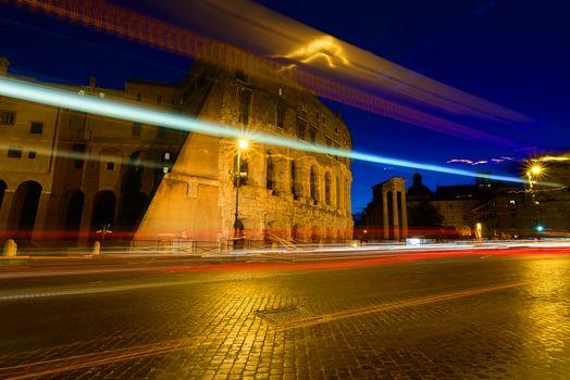 Colosseum twilight, Italy