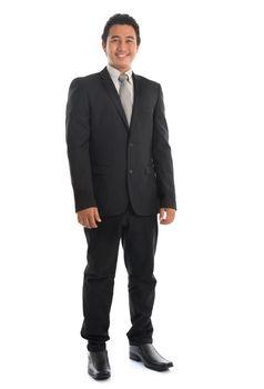 Southeast Asian businessman standing