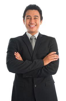 Smart Southeast Asian businessman