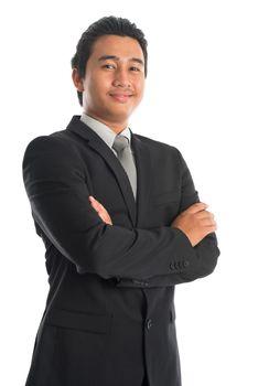 Confident Southeast Asian businessman
