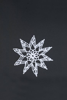 Crocheted star or christmas star