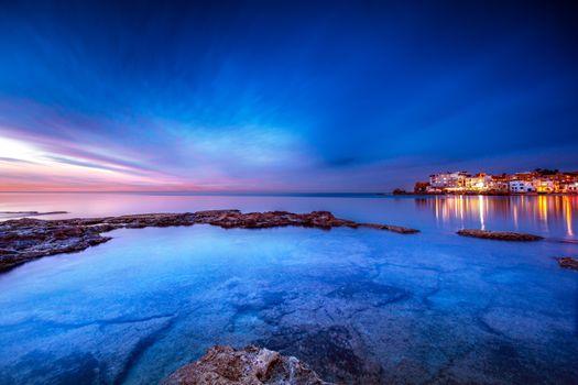 Beautiful coastal city