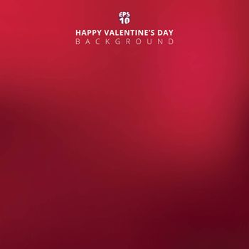Pink blurred backdrop with lighting. Valentine`s day Background. Vector illustration