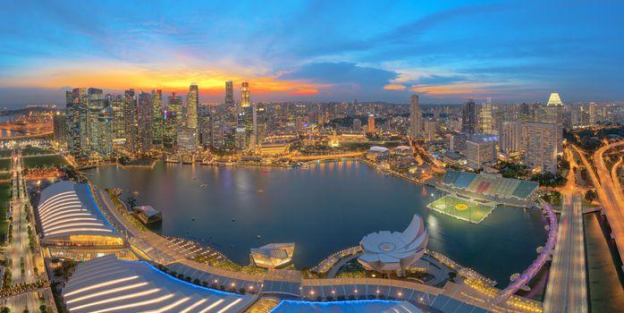 Business city Singapore
