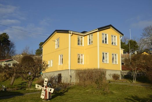 Swedish middle class home, Vaxholm - Sweden