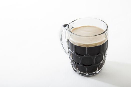 Mug of stout beer