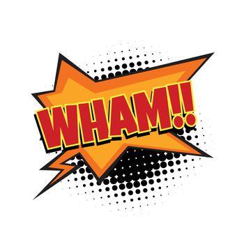 wham comic word