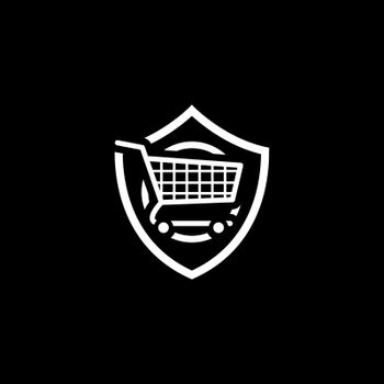 Customer Protection Icon. Flat Design. Business Concept Isolated Illustration.
