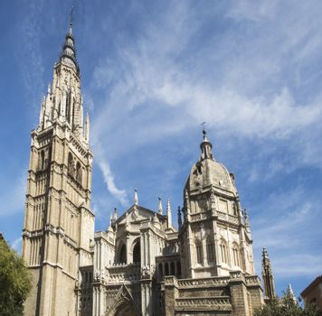 cathedral of toledo in spain