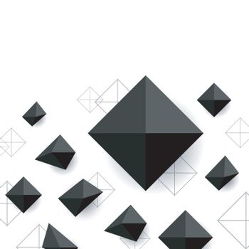 modern square background