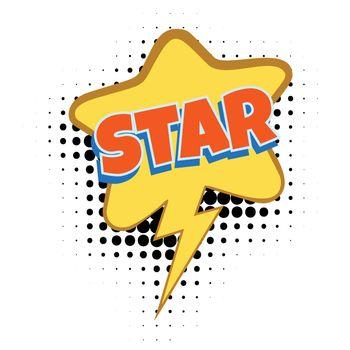 star comic word